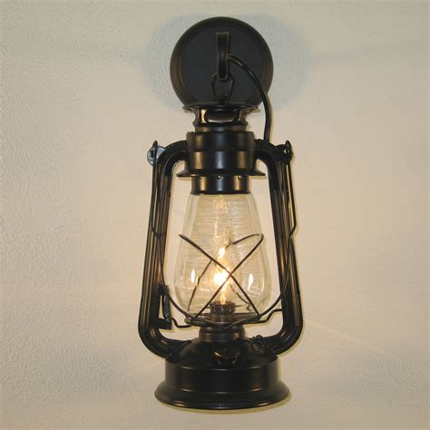 Black Wall Sconces Large Black Lantern Wall Sconce