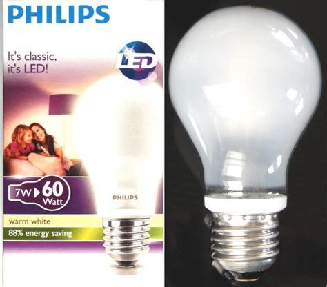 Lu Led Philips 60 Watt im test neue 7 watt philips led le als 60 watt