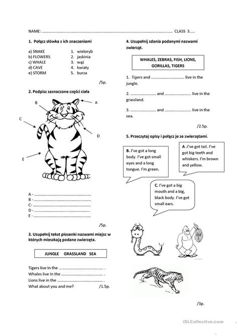 Index To Disability Examination Worksheets C P Exams by All Worksheets 187 Animals Parts Of The Worksheets