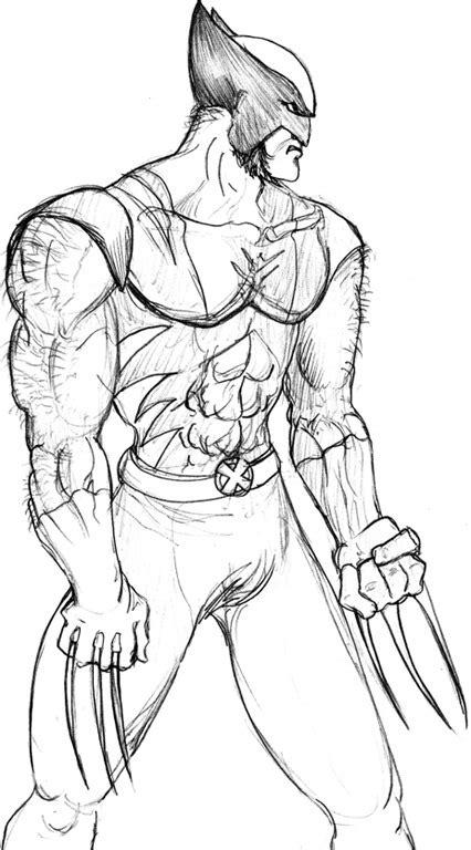 imagenes de wolverine para pintar wolverine logan desenhos para colorir imprimir e pintar