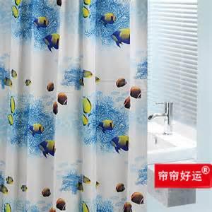 designer fabric shower curtains tropical home decoration