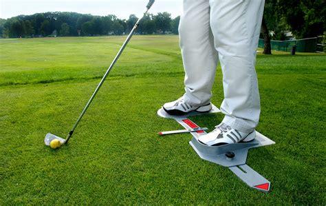 swing aids for golf new apv golf power stance training aid swing trainer ebay