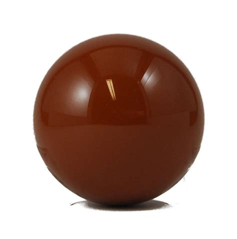 snooker brown ball single piece