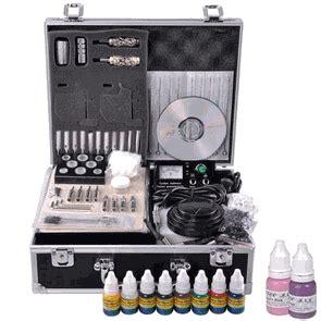 tattoo kits and practice skin tattoo supplies kit power supply needle ink practice skin ii