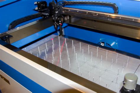 Laser Cutting Table by Lensdigital Diy Pin Table For Laser Cutter