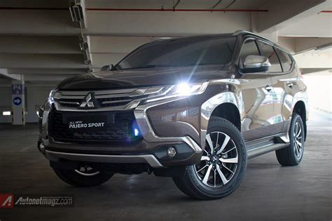 mitsubishi indonesia 2016 let s look at new pajero sport 2016 indonesia detail