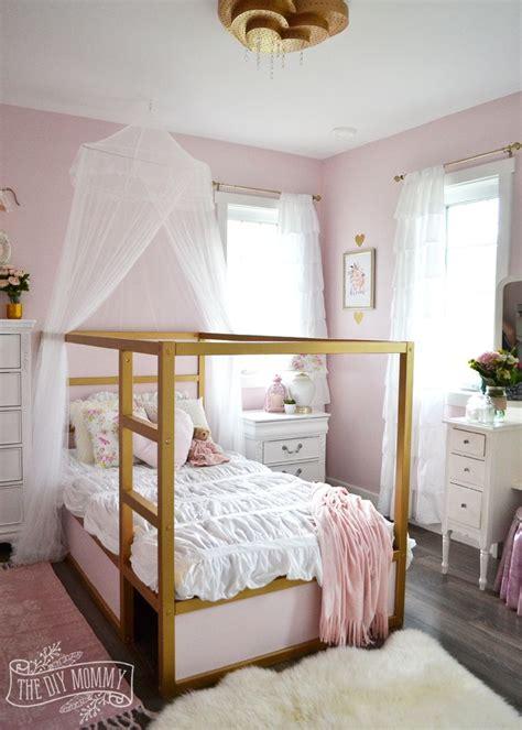 blush bedroom ideas a shabby chic glam girls bedroom design idea in blush pink