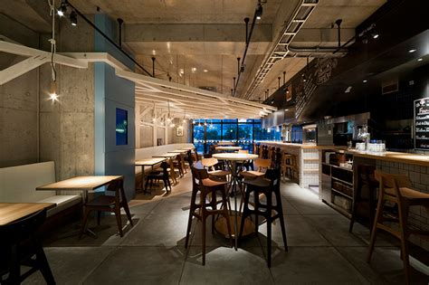 study designs craft beer restaurant interiors  fukuoka