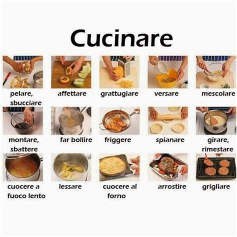parodi in cucina i verbi della cucina impariamo l italiano