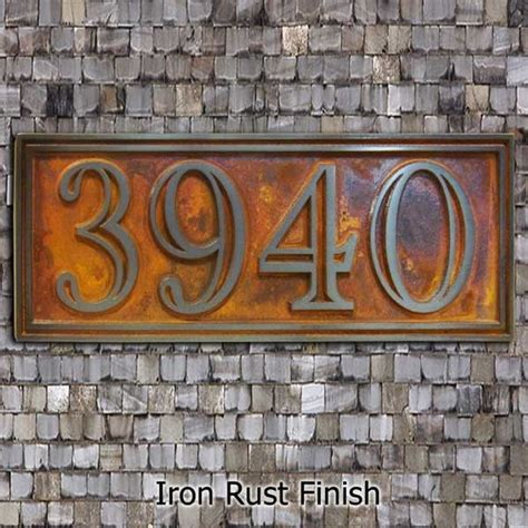 Home Decor Cool Address Plaques 7 Best Images About Address Sign Ideas On