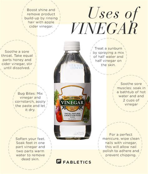 White Vinegar Hair Detox by 7 Diy Health And Uses Of Vinegar The Fabletics