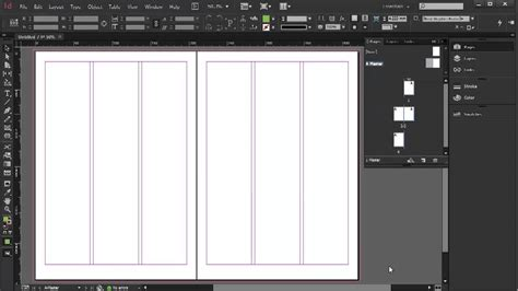 creating newsletter indesign setting up a newsletter indesign cc tutorial 820 youtube