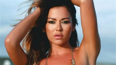 Karina Jelinek | tantalizing karina jelinek pulls thong clad booty in the
