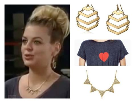 gh maxies hair feb 13th 2015 general hospital fashion get maxie jones s necklace