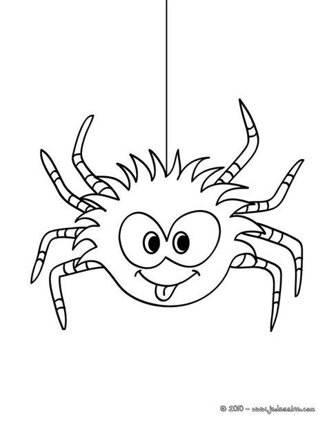 funny spider coloring page coloriages coloriage araign 233 e rigolote fr hellokids com