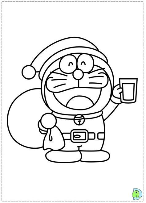 free coloring page doraemon doraemon coloring page dinokids org