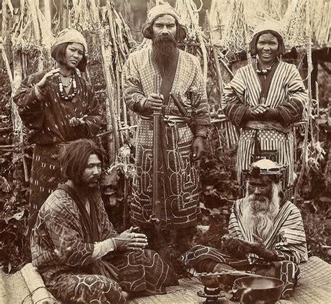 ainu japan ainu of japan ca 1900 ainu