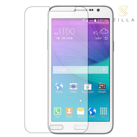 zilla 2 5d tempered glass curved edge protection screen 0 33mm for samsung galaxy grand max