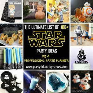 Star wars birthday party games by a professional party planner