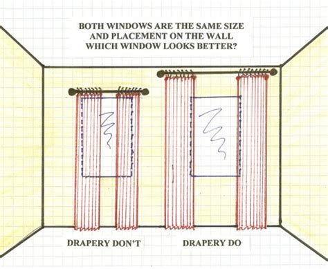 Hanging Curtains Higher Than Window Decor Make Your Windows Look Bigger Tidbits Twine