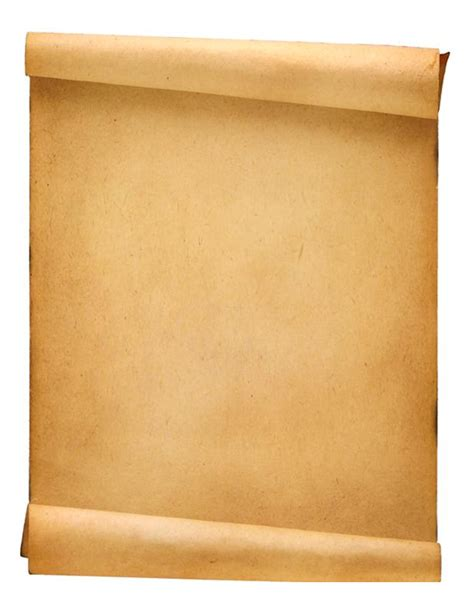 scroll writing paper blank parchment paper cliparts co