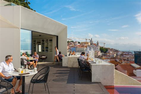 Restaurant Dining Room Design by The Memmo Alfama A Design Hotel Located In Lisbon No
