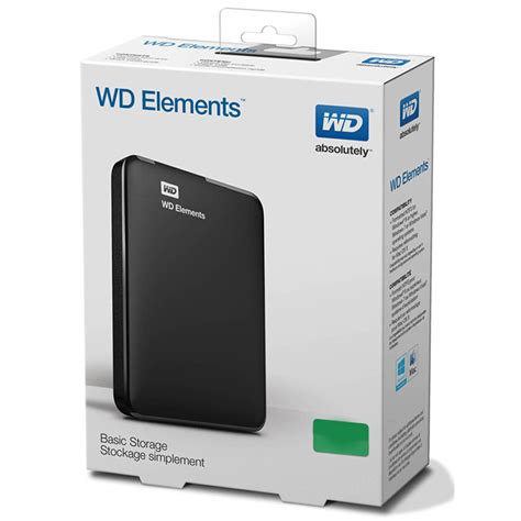 wd elements portable drive usb 3 0 1tb black