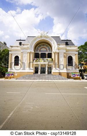 the house of saigon stock photo of the opera house of saigon vietnam with