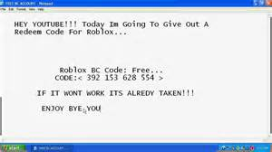 Roblox redeem card codes
