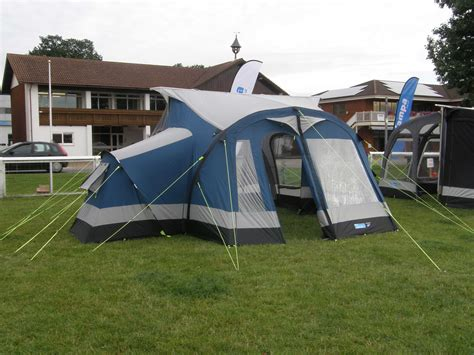 inflatable awning inflatable tube awnings the cing and caravanning club