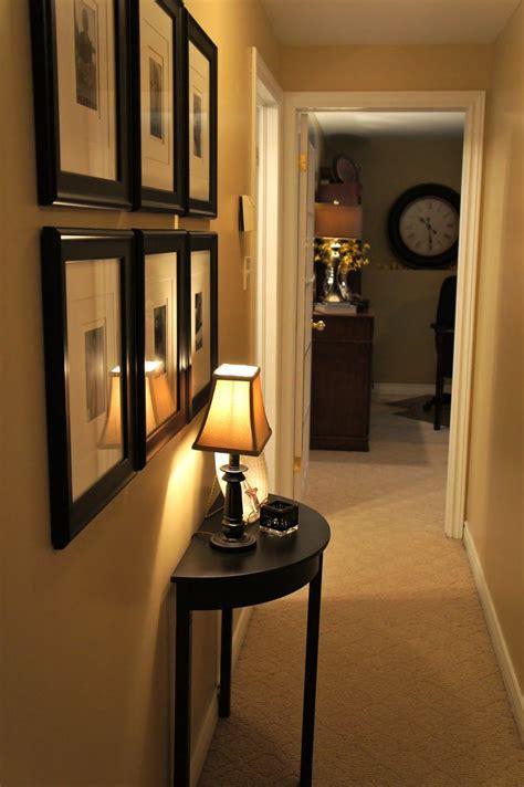 decorate  narrow hallway  cute ideas
