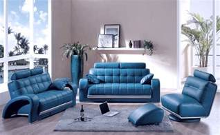 Blue Sofa Living Room Decorating A Room With Blue Leather Sofa Traba Homes