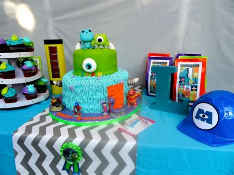Monsters Inc Nursery Decor Monsters Inc Cake Table My Diy Crafty Work Nursery Design And Decor Pinterest