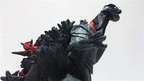 Origami Godzilla - godzilla is the king of origami technabob