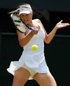 why does maria sharapova scream so much tennis noise
