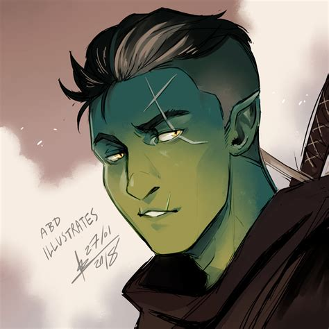 fjord critical role critical role fjord by abd illustrates on deviantart
