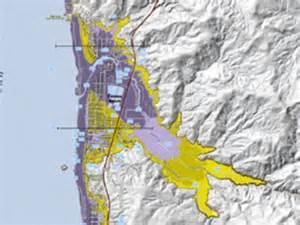 oregon tsunami evacuation maps scientists map tsunami inundation zones on oregon coast