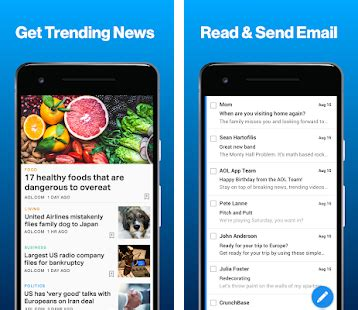 aol mail mobile aol news mail apk version