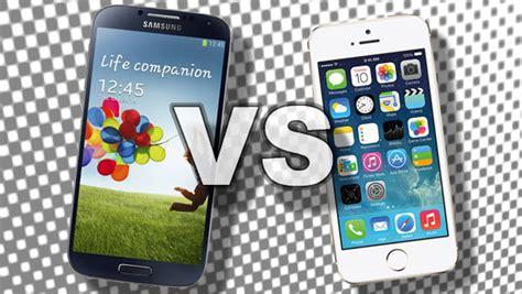 iphone 5s vs galaxy s4