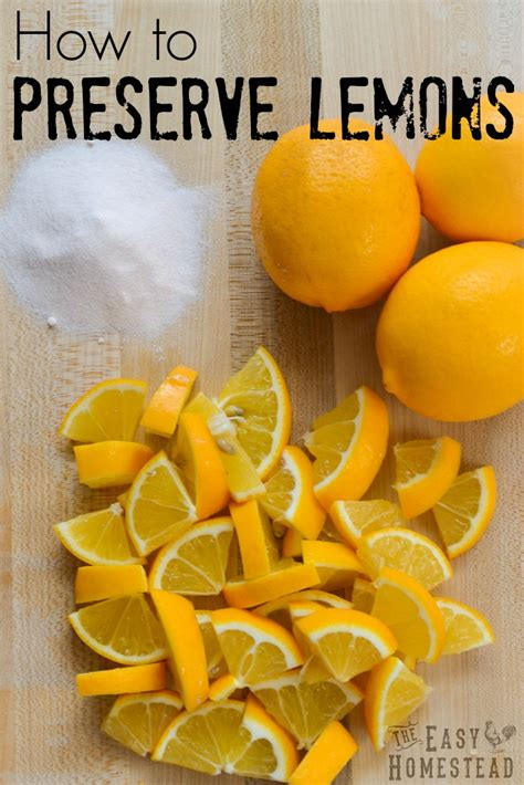 preserve lemons fermented lemons  easy homestead