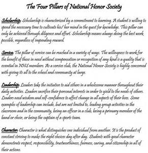 National Honor Society High School Essay by National Honor Society Holy Cross High School