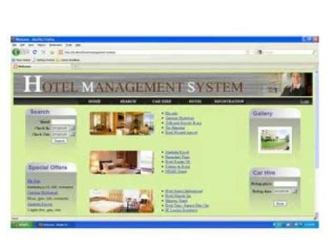 5 report layout for hotel management system hotel management system project report ppt youtube
