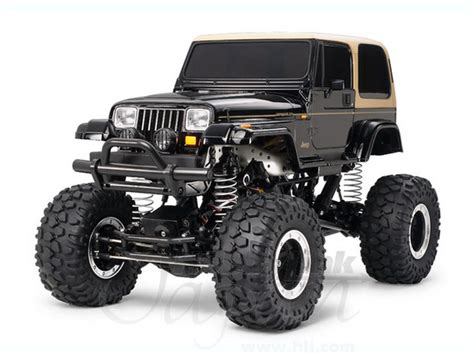 rc   road car jeep wrangler yj cr chassis