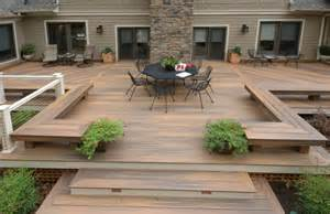 Patio Railing Height 63 Tub Deck Ideas Secrets Of Pro Installers Amp Designers