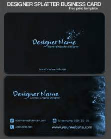 best format for business cards 40 best free business card templates in psd file format