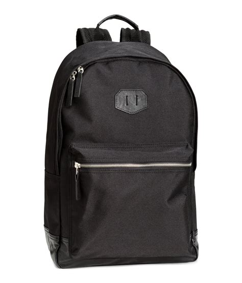 Backpack H M by Lyst H M Backpack In Black For