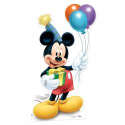 mickey mouse quot party quot cardboard cutout kidsbedrooms children bedroom specialist