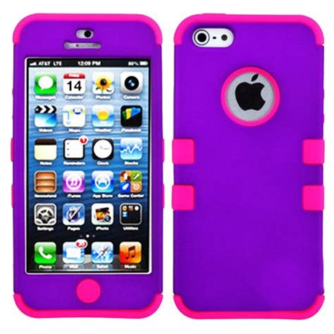 Hardcase Snart Grip For Iphone 5s Iphone 5g Murah mylife pink and purple colorful robot series neo hypergrip flex gel 3 for
