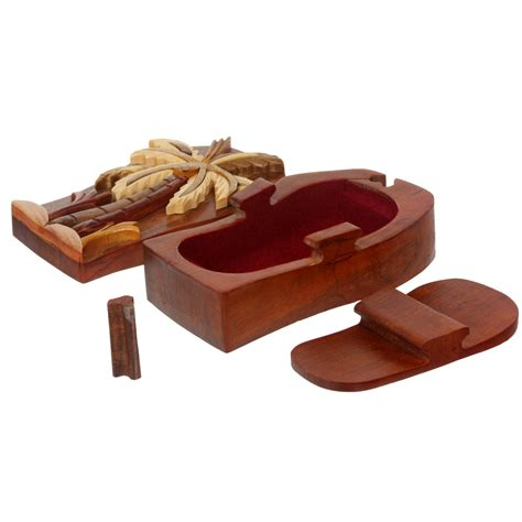 Handcrafted Wooden Jewelry Box - beltiscool free shipping s and s belts