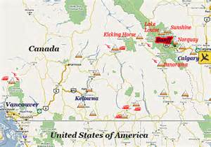 where is banff canada on a map where is banff banff travel